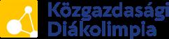Közgazdasági Diákolimpia Logo